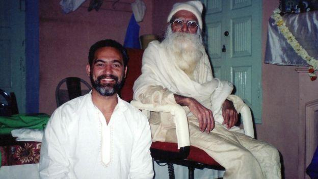 Prem Baba e seu líder espiritual