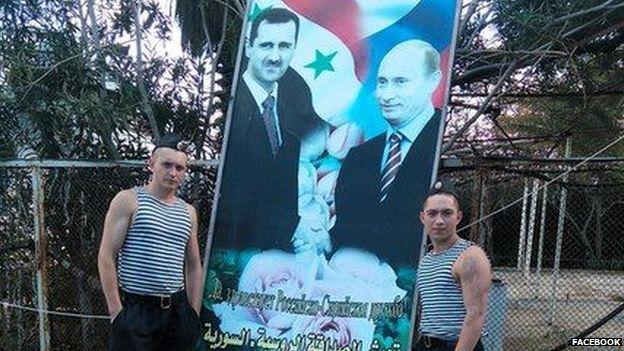مقاتلان روسيان في سوريا