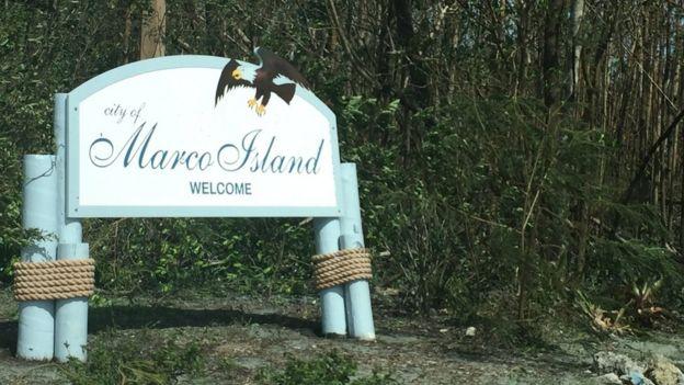 Cartel de Marco Island