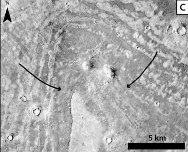 Thumbprint terrain