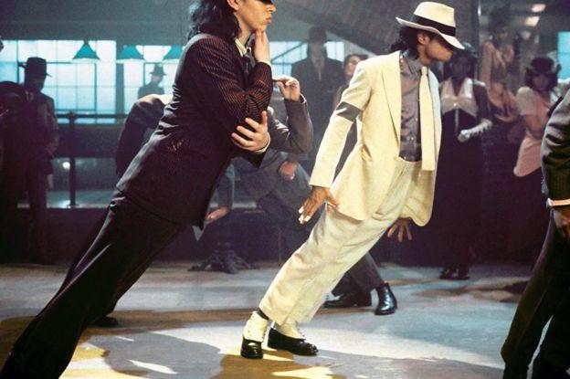 Michael Jackson en la película Moonwalker
