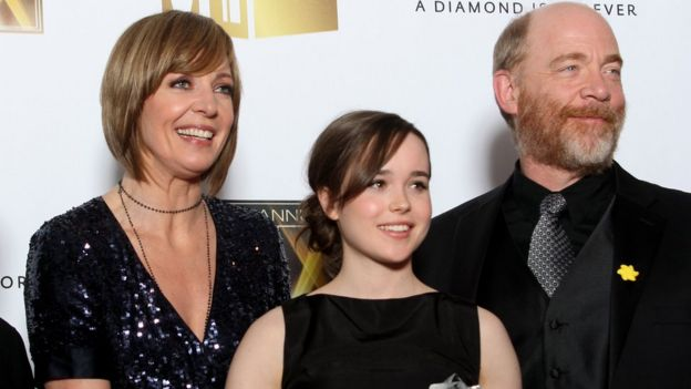 Allison Janney, Ellen Page and JK Simmons in 2007