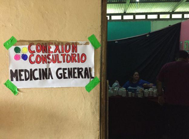 Conexión consultorio. (Foto: Tamara Gil/BBC Mundo)