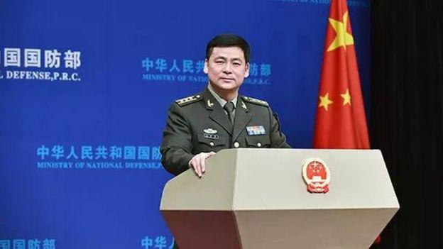 中国国防部发言人任国强