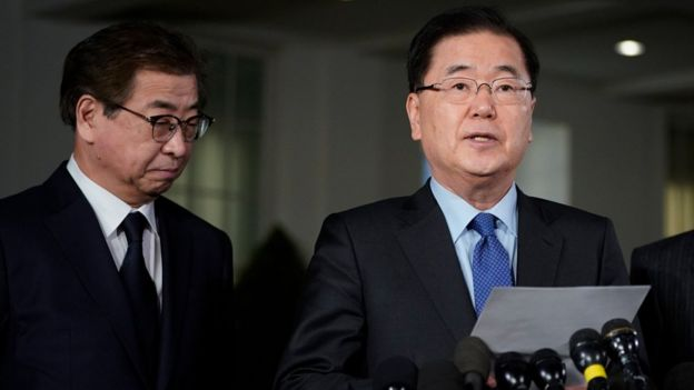 100340918 9c030484 65c0 49eb 8d25 2dbb8d61ae92 - Trump explicó su decisión de dialogar con Corea del Norte