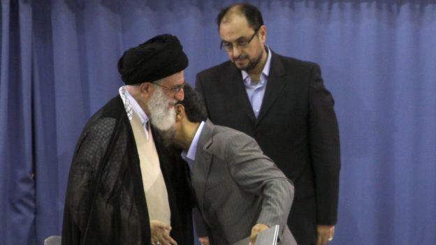 خامنه ای و احمدی نژاد