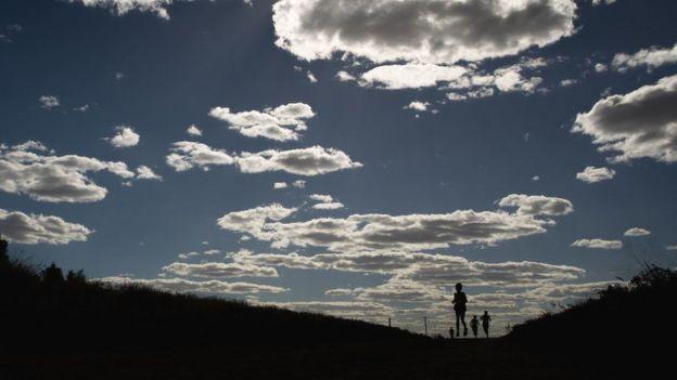 Paisagem com céu e Terra