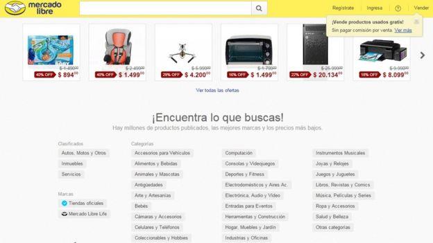 Portal de Mercado Libre