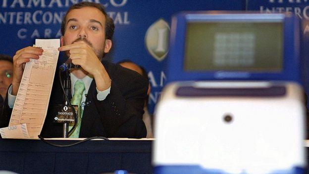 Antonio Mugica en 2004