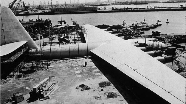 File shot of the Hughes H-4 Hercules