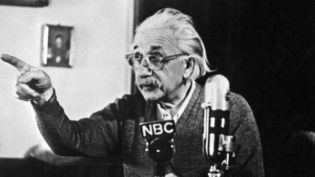 Einstein en Princeton
