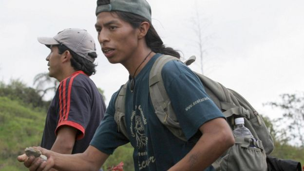 Protesta minera Ecuador