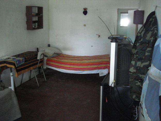 Habitación de la cárcel de Isla de Pascua