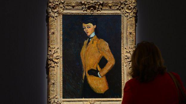 Modigliani tablosu