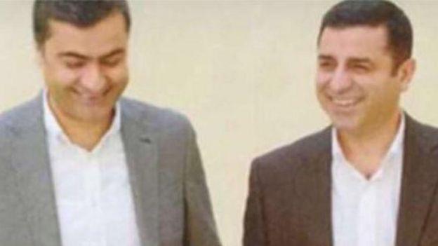 HDP Hakkari Milletvekili Abdullah Zeydan ve eski HDP Eş Genel Başkanı Selahattin Demirtaş