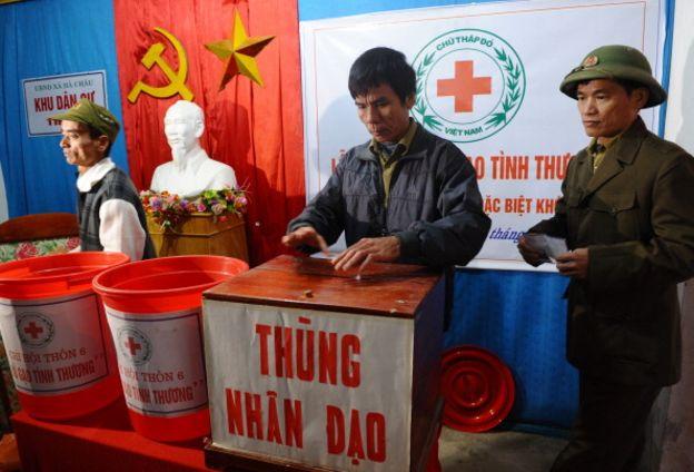 Một hoạt động cứu trợ đói nghèo ở tỉnh Thanh Hóa