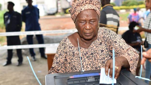 Sierra Leone election photo