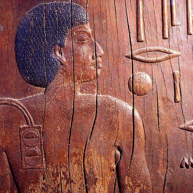 El mastaba de Hesire, un alto oficial del rey Zoser, era el jefe de los dentistas y médicos. 3ª dinastía circa 2700 a.C. GETTY IMAGES