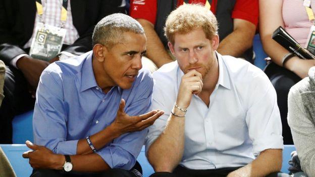 Obama y Harry