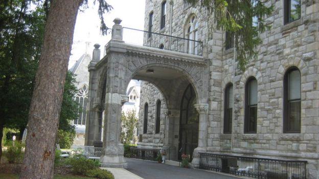 Convento de las Hermanas de San Francisco de Filadelfia en Aston, Pennsylvania.