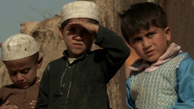 Children in the province of Helmand.
