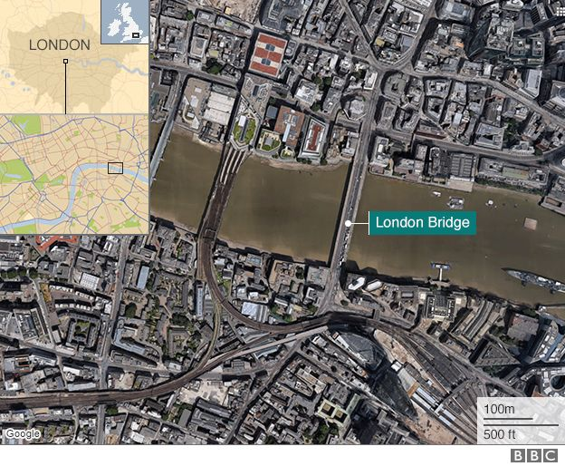London attack location