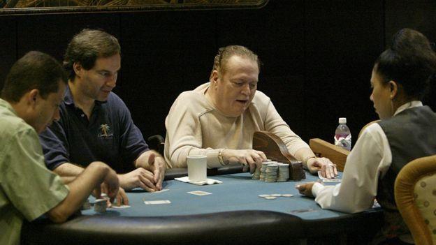 Flynt es adicto al póker desde que tiene 15 años.