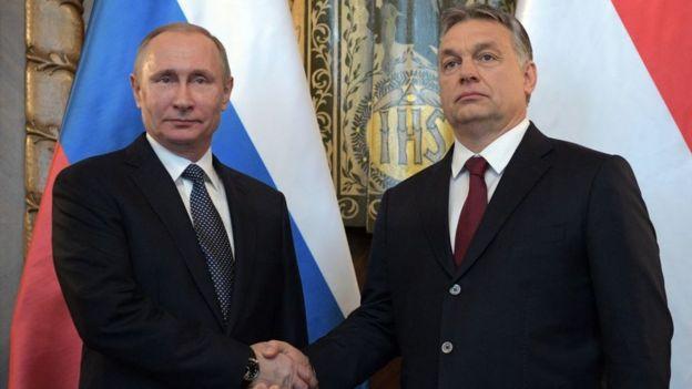 Putin y Orbán