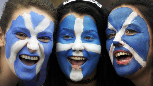 İskoçya'da 2014'te yapılan bağımsızlık referandumunda yüzde 55,3 oyla