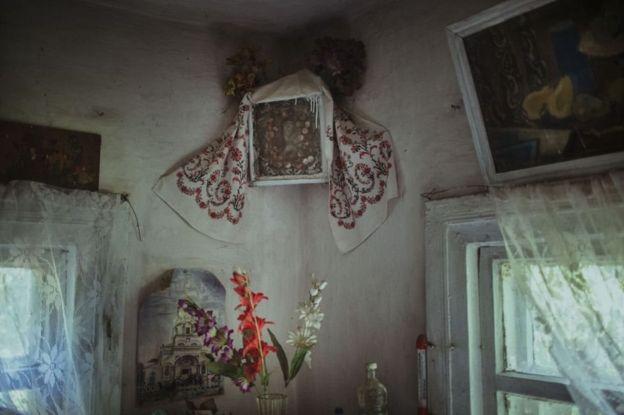Ukrayna, Çernobıl, qadağan zona, tərk edilmiş kənd,