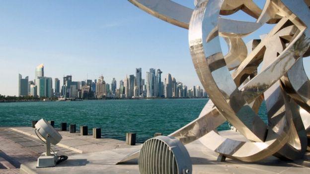 بعض مباني الدوحة