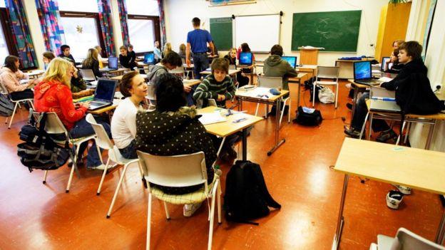 Escola na Noruega