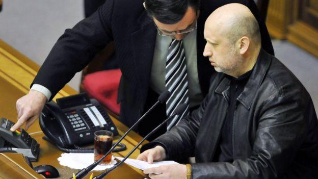 22 лютого 2014 року. Олександра Турчинова щойно обрали головою Верховної Ради і, як наслідок, в.о. президента