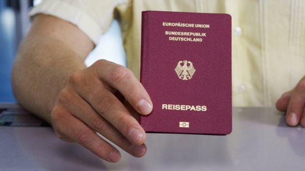 Німецький паспорт