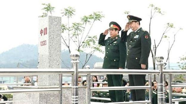 Hai bộ trưởng Quốc phòng Việt-Trung trong Giao lưu hữu nghị quốc phòng biên giới lần ba tháng 3/2016