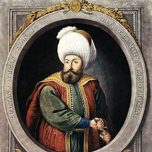 The Turkish chief Osman (1258-1324), considered the founder of the Ottoman Empire.