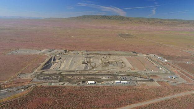 Vista aérea de Hanford Site