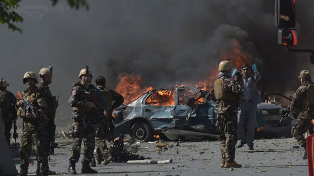 काबुल धमाका