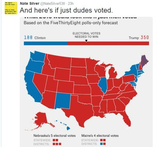 US Election Repealtheth Tweets Urge US Women To Be Denied - Us leection map