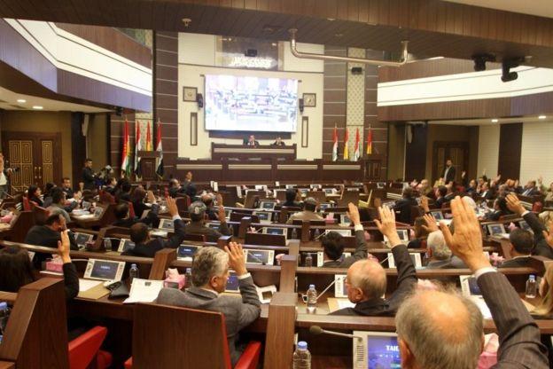 رای پارلمان کردستان به پذیرش استعفای آقای بارزانی