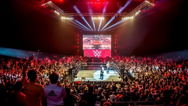 A WWE show in Switzerland