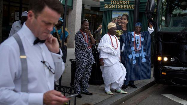 Ooni of Ife in US
