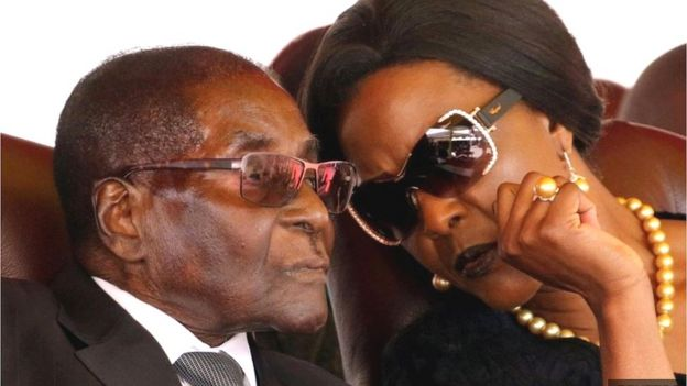 Bà Grace Mugabe