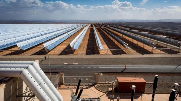 摩洛哥太阳能发电站