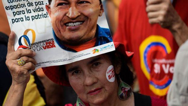 Chavez yandaşları ağırlıklı olarak kent yoksullarından oluşuyor
