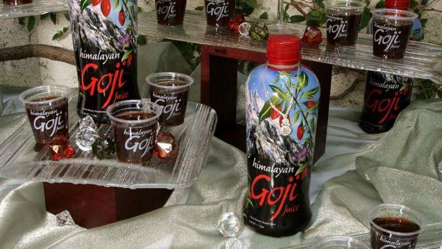 Bebida de Goji