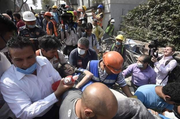 rescates en Ciudad de México