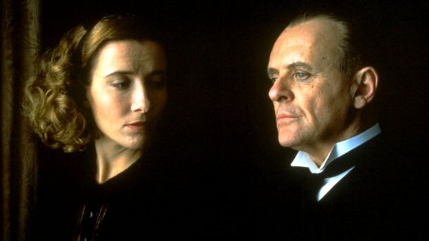Remains of the Day film still Emma Thompson and Anthony Hopkins