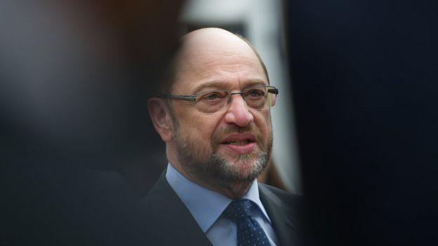 Candidato ao governo alemão, Martin Schulz