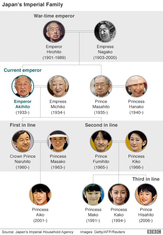 japan royal family graphic